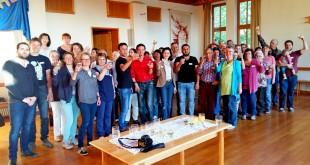 """Unterstützerkreis """"Weißenburg hilft"""" feiert 1. Geburtstag - Ein Jahr Begleiten und Leben mit Flüchtlingen (Bild: Peter Diesler)"""