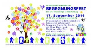 1. Weißenburger Begegnungsfest