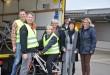 """Briefträger sammeln Fahrräder für Flüchtlinge – Deutsche Post AG unterstützt """"Weißenburg hilft"""""""